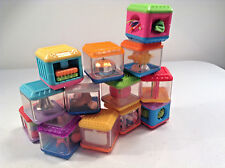 Fisher Price Peek-a-block Set Of 15 Developmental Learning Toys