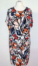 Samoon by Gerry Weber Kleid Gr. 44 Crêpe Kaschier-Effekt Damenkleid Etuikleid