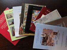 Lot 7 Catalogues de vente Livres anciens modernes manuscrit autographe Estampe