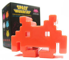 "SPACE INVADERS Mini Series 1 - ORANGE 3"" Alien Vinyl Action Figure Toy"