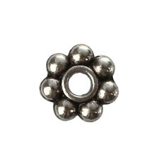 200 x 4 mm Tibetan Silver Daisy Spacer Beads Charms Beads
