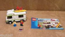 7639 Lego City Transportation Camper complete minifigs instructions vacation