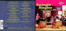 Swingin' Singles Of The 70's cd- Boston,ELO,Looking Glass,Rex Smith,Hollies
