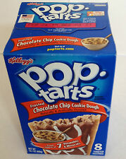 Kelloggs Pop tarts Frosted Chocolate Chip Cookie Dough 8 toaster pastries0400g