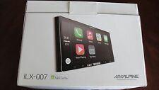 "ALPINE iLX-007 7"" MECHLESS MEDIA RECEIVER APPLE CARPLAY FOR iPHONE"