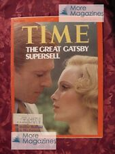 TIME March 18 1974 3/18/74 ROBERT REDFORD MIA FARROW The Great Gatsby +++