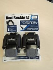 Boat Buckle G2 retractable transom tie-down system boat trailer IMMI