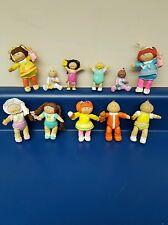 Lot of 11 Vintage CABBAGE PATCH KIDS miniature figures PVC