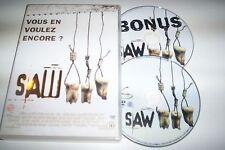 DVD SAW film d'horreur boitier 2 dvd le film + les bonus