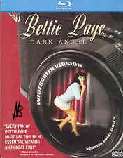 Bettie Page Dark Angel Blu Ray Cult Epics SIGNED Nico B Betty Burlesque