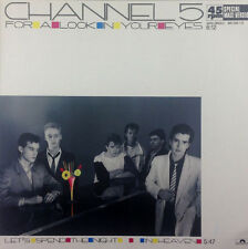 "Channel 5 - For A Look In Your Eyes - 12"" Maxi - K1099 - washed & cleaned"