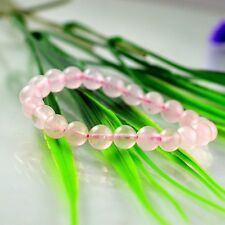 Feng Shui  Rose Quartz Pink Crystal beads  Bracelet  for love and healing
