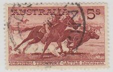 (EY151) 1961 AU 5/- NT Catle Industry
