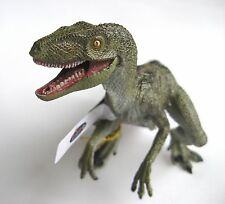 GREEN VELOCIRAPTOR DINOSAUR WITH OPENING JAW BY PAPO - NEW MODEL - BRAND NEW!