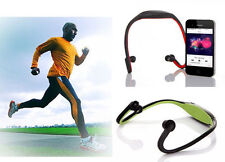 Wireless Bluetooth, Sports Headset WITH MEMOR CARD SLOT