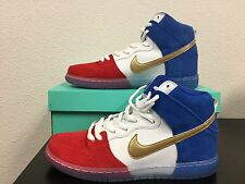 NIKE DUNK HIGH PREMIUM SB FRANCE 313171 674 sz 9.5 DeadStock