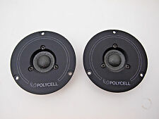 INFINITY TWEETERS PAIR (2) POLYCELL 902-2624 from RS1000 Consecutive serials!