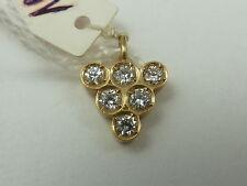 edler Diamant-Anhänger 585 Gelbgold 0,21 ct w-si LP 1.040,- #1525