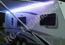 RV 16' WHITE LED Awning Party Light 12V 110V Power supply included WATERPROOF