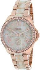 Fossil Women's Cecile AM4616 Rose Gold Stainless-Steel Quartz Watch