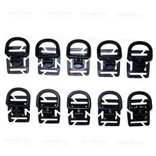 10X 360 Rotating D Ring Buckle MOLLE Webbing Locking Carabiner Backpack