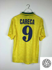Brazil CARECA #9 91/93 Home Football Shirt (M) Soccer Jersey Umbro