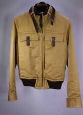 * DSQUARED * Dsquared2 Brown Cotton Barn Military Jacket Coat 38/Small