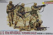 1:35 Dragon #3011 US 101st Air Assault Screaming Eagles (4 Figures)
