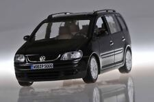 VW VOLKSWAGEN TOURAN 2002 BLACK METALLIC MINICHAMPS NEW 1/43 MONOSPACE NOIR