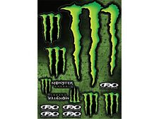 Monster Energy Sticker Aufkleber Set Kralle Motorrad Cross MX Offroad 7 Stk