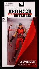 "2014 DC COMICS NEW 52 RED HOOD & THE OUTLAWS ARSENAL 6"" ACTION FIGURE MIB"