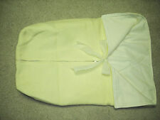 VINTAGE BABY SLEEP BAG with MATCHING BONNET HAT