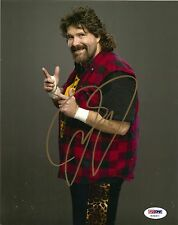 MICK FOLEY  SIGNED 8X10 PHOTO PSA/DNA MANKIND, CACTUS JACK, WWF, WWE, WCW