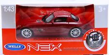 Welly Mercedes Benz SLS AMG in dkl. rot  Maßstab 1:43 Neu & OVP