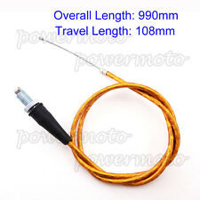 Gold Gas Throttle Cable For Thumpstar Apollo Orion SSR Piranha BSE Dirt Pit Bike