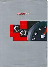 1998 AUDI TT 180cv - TT 180cv quattro - TT 225cv quattro brochure italiano