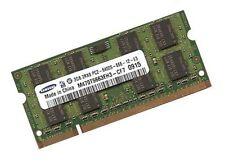 2gb RAM ddr2 de memoria RAM 800 MHz Samsung n series netbook nc20-kaa1 pc2-6400s