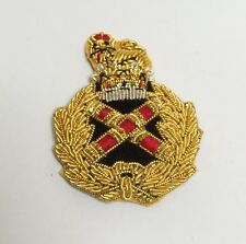 Field Marshal Beret Badge Embroidered, Marshals, British Army, Hat, Military