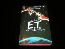 William Kotzwinkle : E.T. l'extra-terrestre J'ai Lu 1982 TBE