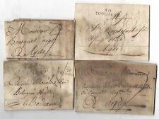 Lot de 4 Marques Postale ( 189 )