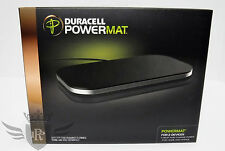New in Box Duracell Powermat Charging Mat for 2 Devices - Black - PMA Compatible