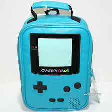 Nintendo Game Boy Color Design School Lunch Bag Box Insulated Cooler 10x7x4 NEW