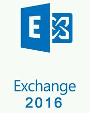 Microsoft Exchange Server 2016 Standard with 5 CALs | Full Retail | Original USB
