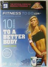 10 WEEKS TO A BETTER BODY DVD Fitness To Go with Donna Aston 3 Disc Set + Bonus
