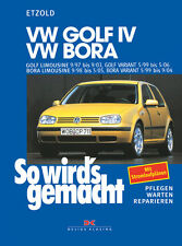 VW GOLF 4 1997-2003 BORA VARIANT REPAIR MANUAL HOW TO DO IT 111
