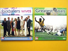 FOOTBALLERS WIVES/GREATEST GOALS, A DAILY STAR/SUNDAY STAR PROMOTION  (2 DVD'S)