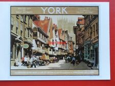 POSTCARD  ADVERTISING - YORK A GUIDE BOOK COVER  C1935