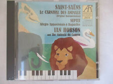 SAINT-SAENS - THE CARNIVAL OF ANIMALS CD - IAN HOBSON PIANO CD - BRAND NEW
