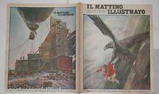 1930 Bambina rapita aquila Volo di Andree per il Polo Nord Sandro Mussolini di