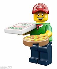 New Lego Minifigure Series 12 Pizza Delivery Guy + Online Code Unused 71007